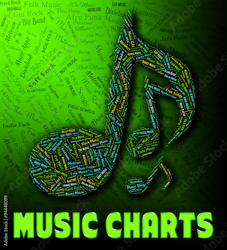Chart Music Indicates Best Sellers And Albums - Buy this