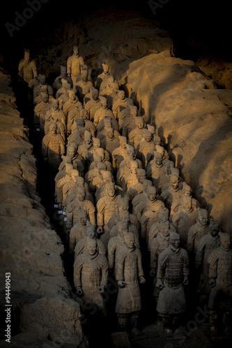 Foto op Plexiglas Xian terracotta warriors