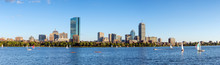 Panorama View Of Boston Skyline In Summer