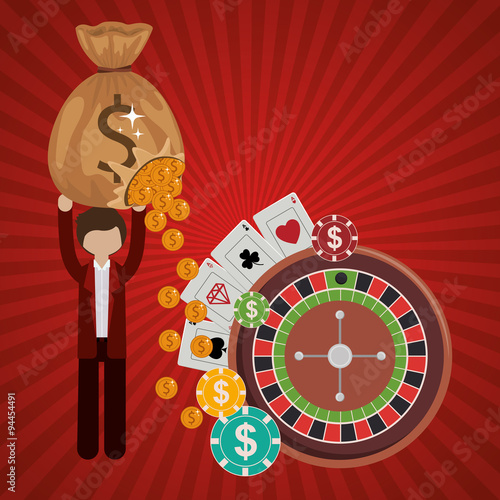 casino games design плакат