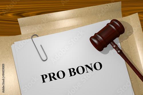 Tela  Pro Bono concept