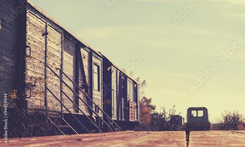 Fotomural Waggon