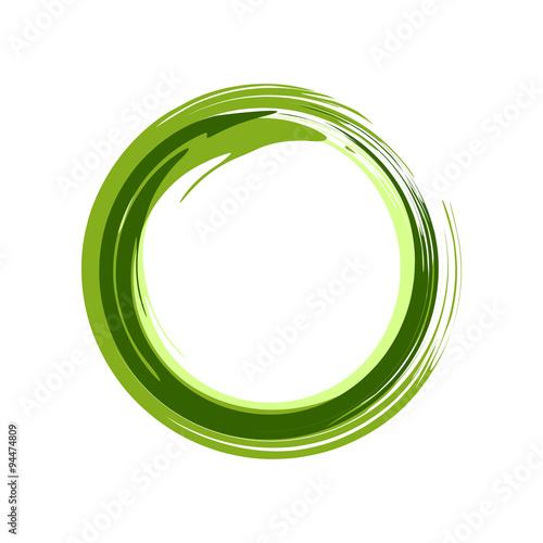 Fotomural  Green Zen Symbol