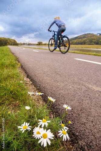 Foto op Plexiglas Fietsen cycling
