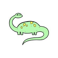 Cartoon Dinoaur