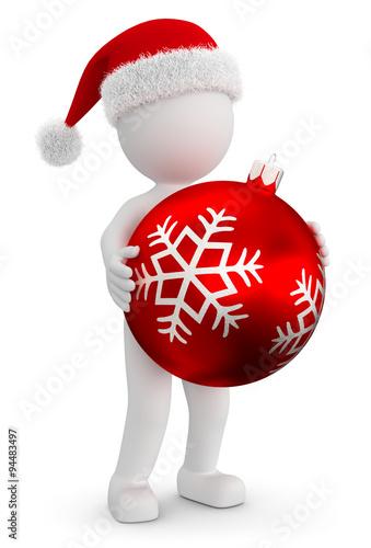 Frohe Weihnachten 3d.3d Männchen Frohe Weihnachten Buy This Stock Illustration And