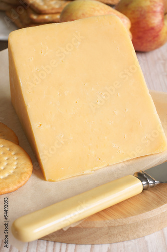 Photo  Double Gloucester Cheese