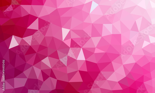 low poly background pink 2