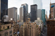 Chrysler building and manhattan architecture