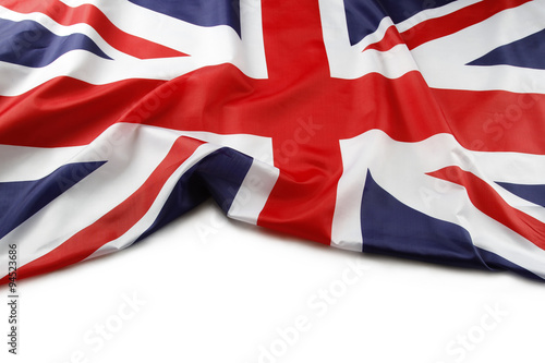 Photo Union Jack flag