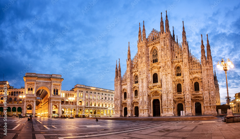 Fototapety, obrazy: Milan Cathedral, Italy