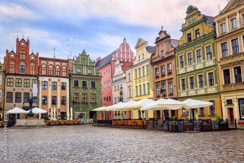 Stary Rynek, Old Marketplace Square in Poznan, Poland