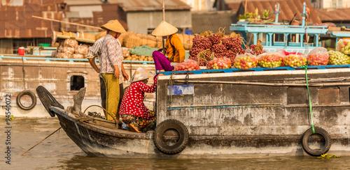 Fotografía  Mekong Delta in Vietnam
