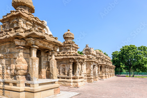 Foto op Canvas Florence Frontal view Hindu temple Kanchipuram