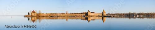 Fotografie, Obraz  Oreshek fortress,  Swedish Nöteborg - Noteburg, ancient fortress on island at th
