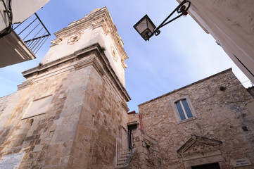 Fototapeta na wymiar Vieste Duomo