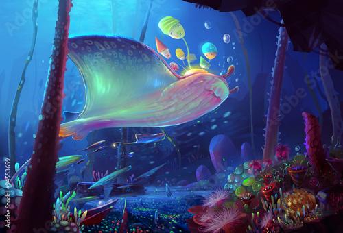 Fotografiet  Illustration: Song of the Sea