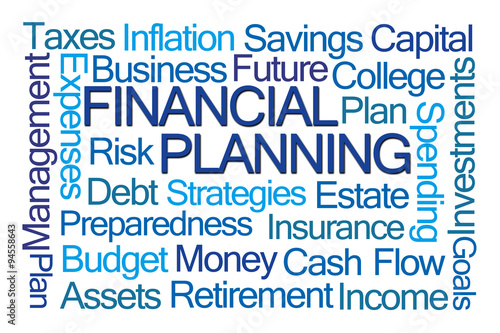 Fotografía  Financial Planning Word Cloud