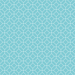 Square pattern background. Vintage retro vector design element.