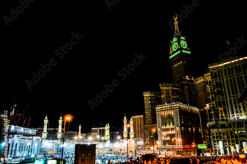 Mecca's towers