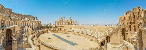Photo  Panorama of Amphitheatre