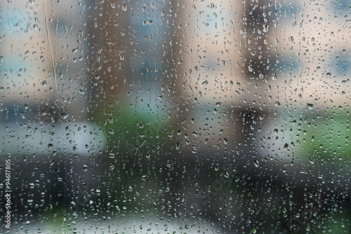 raining window buy this stock photo and explore similar images at