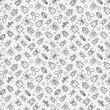 Insects Linear Pattern