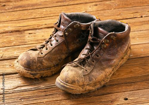 Fotografía  Muddy boots