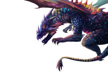 Illustration: The Dragon - Pu...