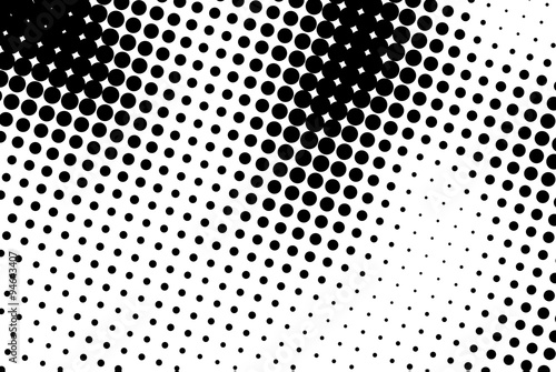 Photo  Abstract background with black dots.