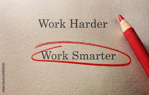 Fényképezés Work Smarter