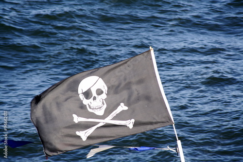 Photo  Jolly Roger Flag