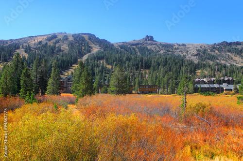 Fotografie, Obraz  Kirkwood ski resort in Sierra mountains