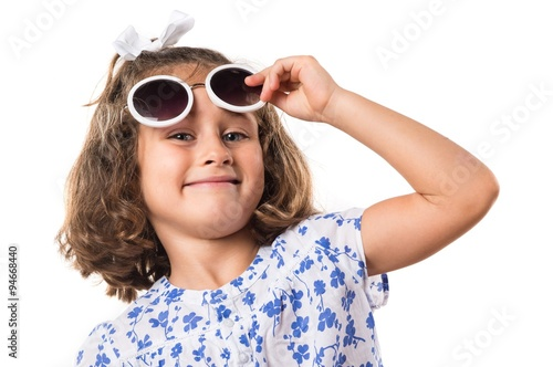 4ae511756d59 Kid with sunglasses - Buy this stock photo and explore similar ...