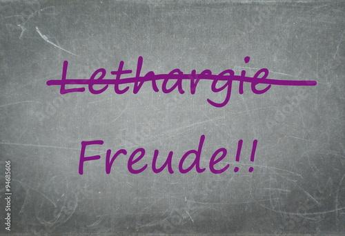 Fotografie, Obraz  Lebensfreude