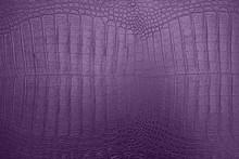 Purple Crocodile Skin Texture