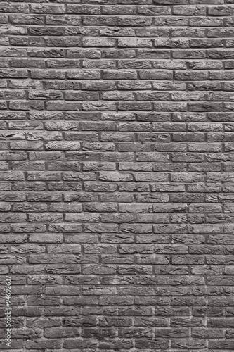 Foto op Plexiglas background of seamless brick wall texture