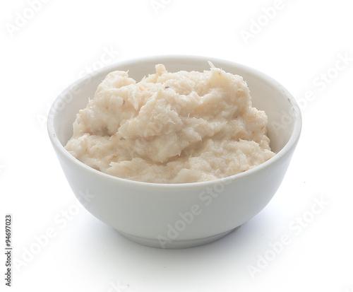 Fotografia Grated horseradish
