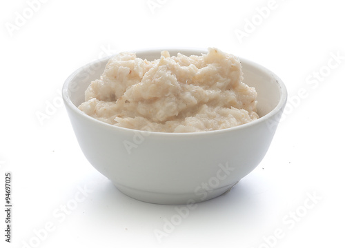 Grated horseradish Fototapeta