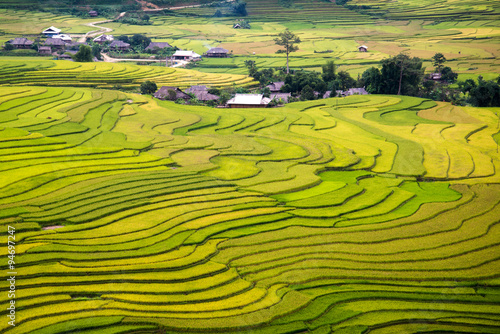 Recess Fitting Rice fields Beautiful rice terrace in northern vietnam