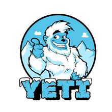 Smiling Cartoon Yeti