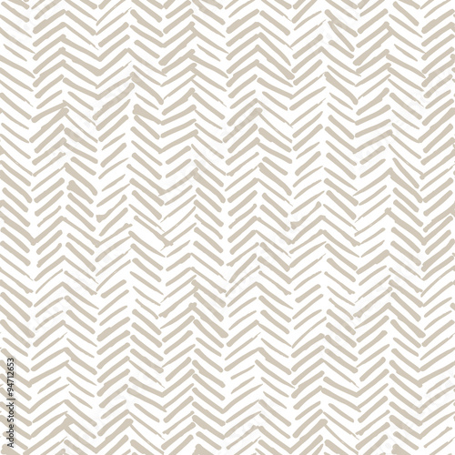 Canvas Prints Boho Style Smeared herringbone seamless pattern design