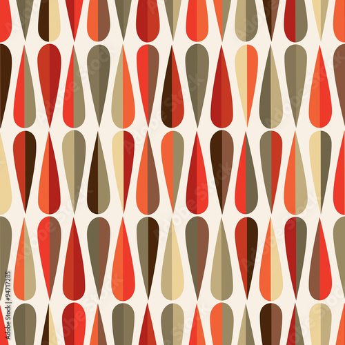 Photographie  Drops seamless pattern