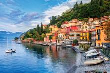 Town Of Menaggio On Lake Como,...