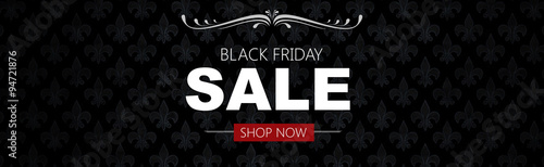 Fotografia  Black friday sale deals web banner