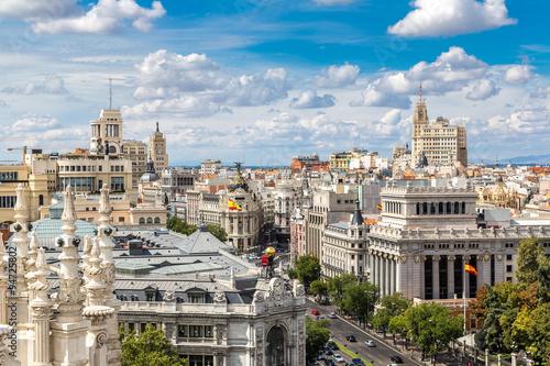 Spoed Fotobehang Madrid Plaza de Cibeles in Madrid