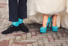 Funny Wedding Shoes And Socks