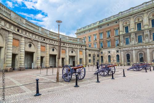 Photo  Royal palace in Stockholm,  Sweden.
