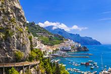 Scenic Amalfi. Italy