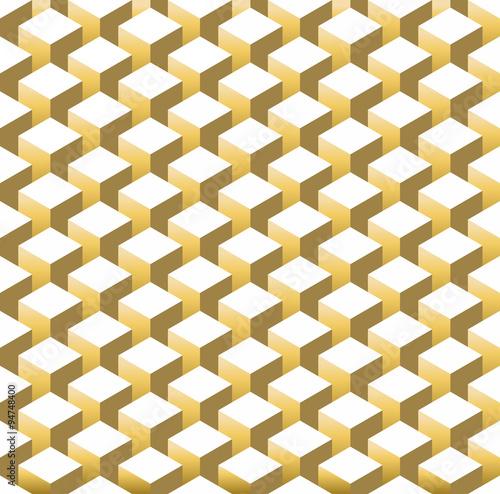 zlocisty-isometric-3d-retro-szescianu-bezszwowy-wzor